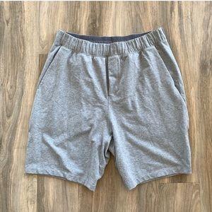Lululemon Grey Heather Shorts Liner-less
